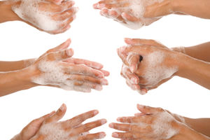 washing hands picture