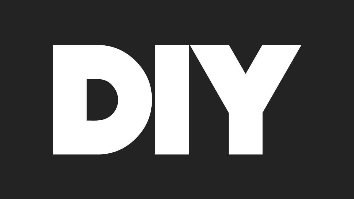 DIY big letters