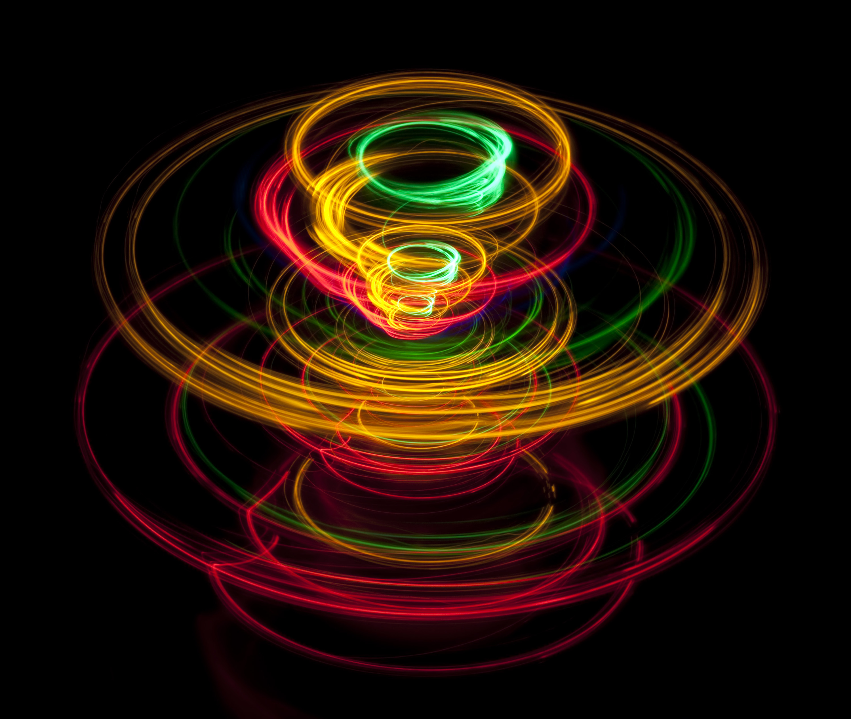 spinning top lights