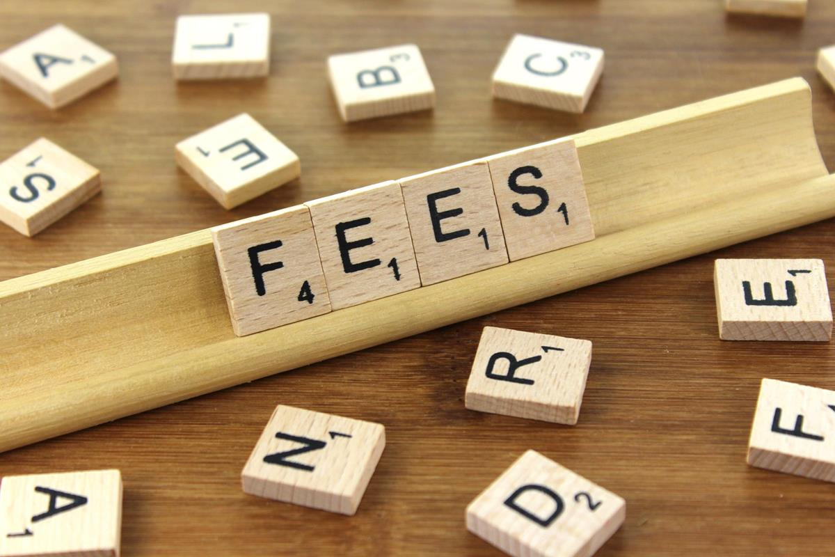 words spelling fees